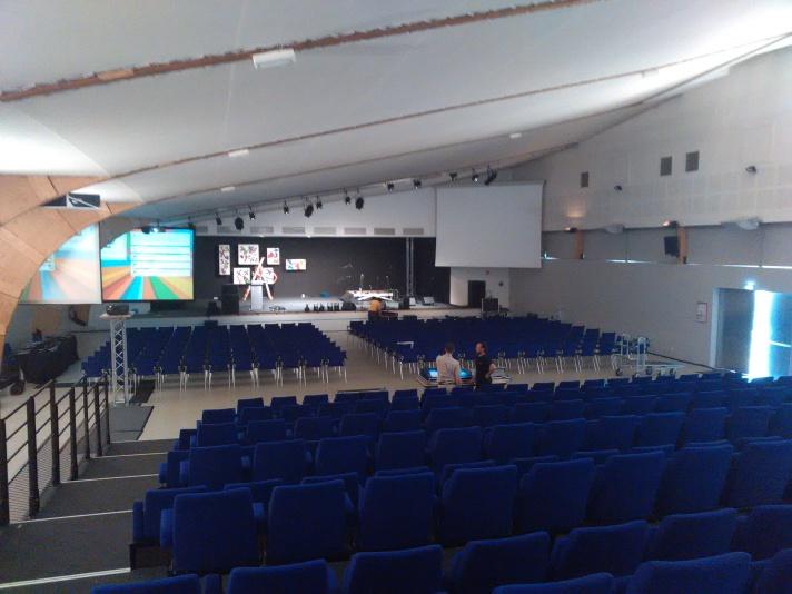Centre des congrès d'Epinal salle tambour major