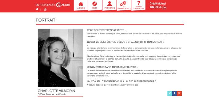Charlotte EntreprendreCGrandir